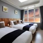 韓国のトリプルルームがあるホテル